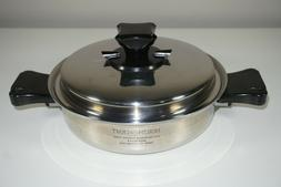 Health Craft 1.5 Qt Sauce Pan Nicromium Surgical Stainless S