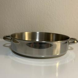 """Tools Of The Trade 12"""" Stainless Steel 5 Qt Sauce Pan Free S"""