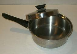 """Amway Queen 18/8 Multi-Ply Stainless Steel 1.5 Quart 8"""" Sa"""