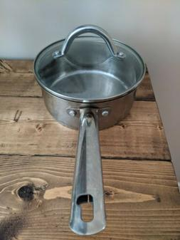 Wolfgang Puck 2 Qt. Pot Cafe Collection Stainless Steel With