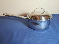 BELGIQUE 1 QT SAUCE PAN WITH LID Tools Of The Trade Stainles