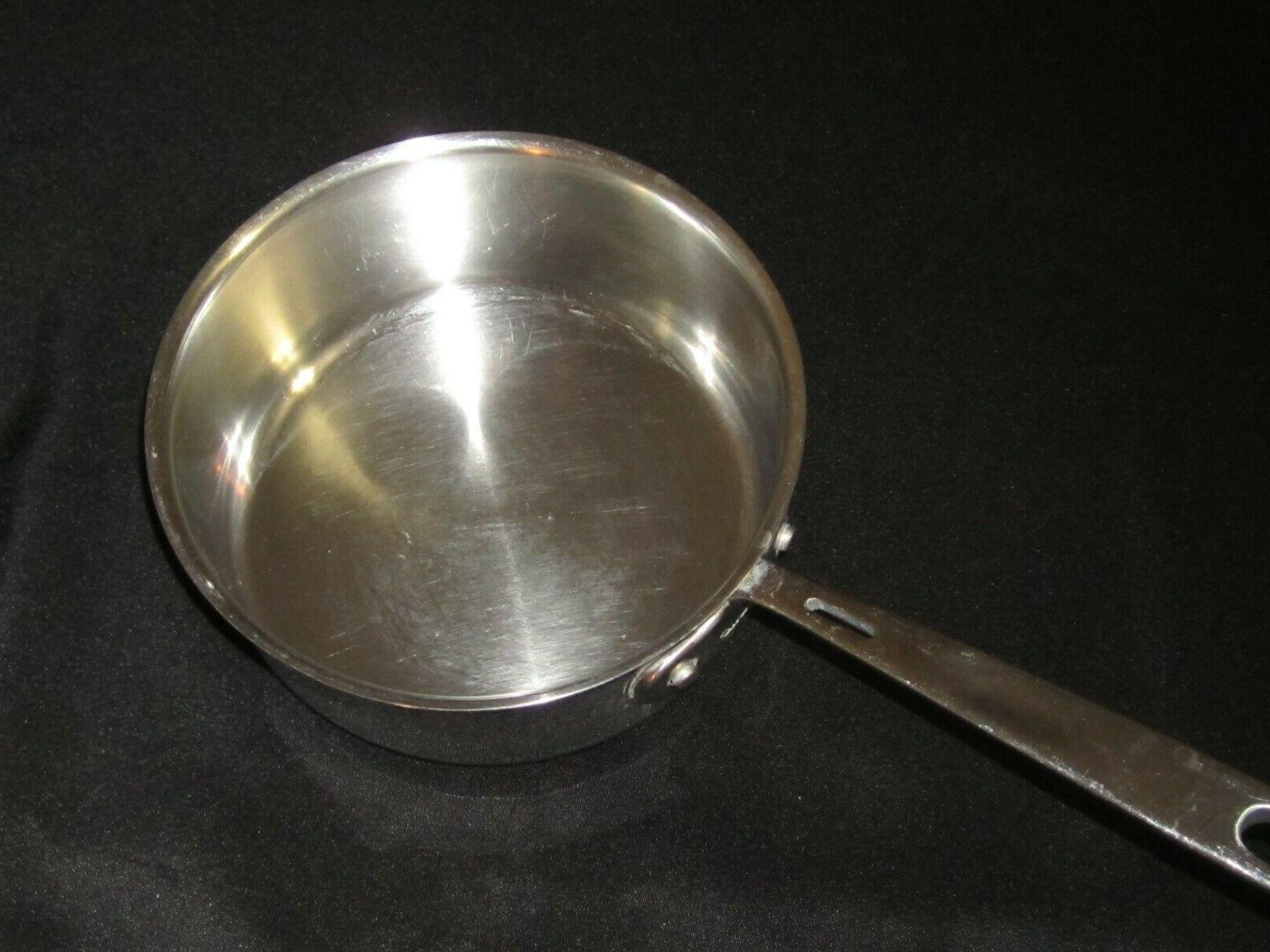 copper core stainless steel 2 quart sauce