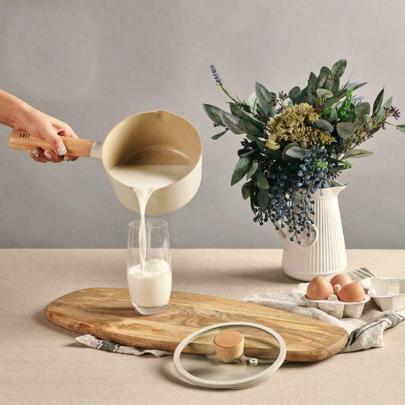 fika milk pan for stovetops and induction