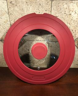 Tramontina Red Silicone Lid For Saucepans Frypans Shatter Re
