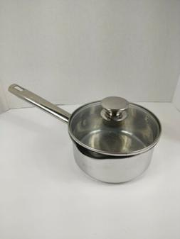 Wolfgang Puck's 1.5 Qt Bistro Collection Sauce Pot w/ Lid
