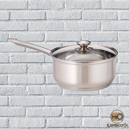 Sauce Pan 3 Qt Durable Stainless Steel Dishwasher Safe Tempe