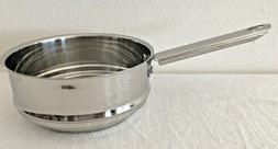 Wolfgang Puck Cafe Collection Steamer Pan For 1-3 Qt Sauce P